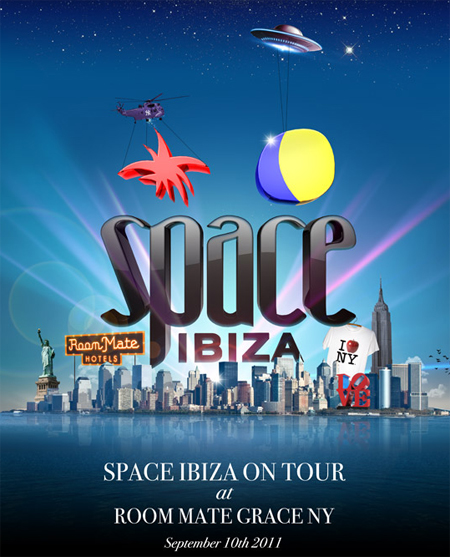 SPACE IBIZA ON TOUR @ ROOM MATE GRACE NEW YORK