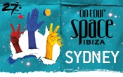 We celebrate the new year in Sydney with Space Ibiza On Tour