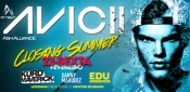 SPACE B. CAMBORIÚ SUMMER CLOSING 2013 NEXT TO AVICII