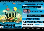 Presentación oficial del doble CD Space Ibiza On Tour