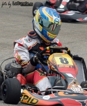 Space Ibiza & Nico  Vila win the seconde race of the Balearic Karting Championship