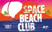 We started with Space Beach Club!