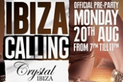 JUANJO MARTIN KICKS OFF IBIZA CALLING PRE-PARTY AT CRYSTAL IBIZA