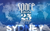 Space Ibiza NYD15 Sydney date of the Australian 25th Anniversary Tour Celebrations