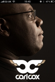 Carl Cox for iPhone, iPod touch, and iPad on the iTunes App Store