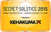 Kehakuma to host a stage at Iceland's Secret Solstice Festival this June