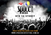 SPACE IBIZA COMES BACK TO SYDNEY FOR NEW YEAR'S DAY