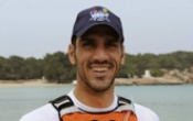 The surfski paddler Daniel Sánchez Viloria prepares for the World Championship with support from Space Ibiza